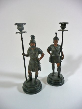 gladiator candlesticks
