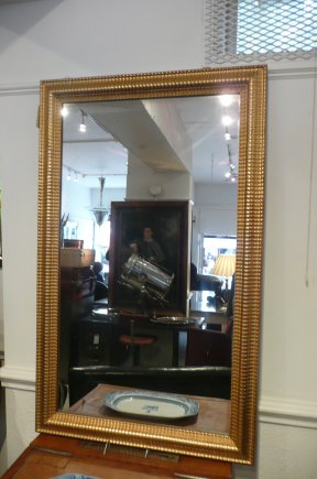 Gilt mirror, French
