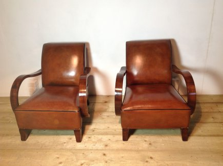 Pair of 1940's Style Chairs