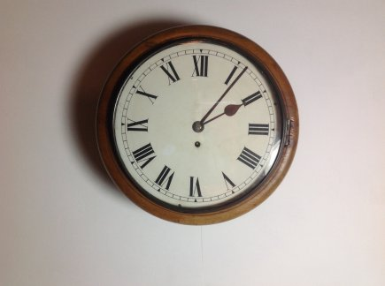 Walnut Cased Clock